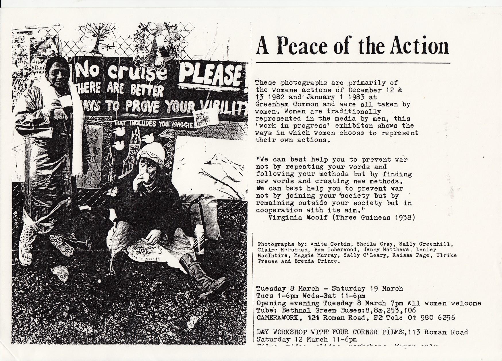A Peace of the Action - Anita Corbin, Sheila Gray, Sally
